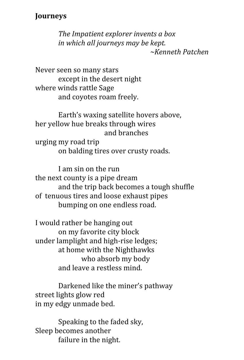Journeys - poem by Jerry Garcia